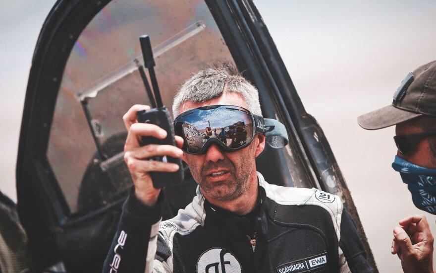 Sebastianas Rozwadowskis apie Dakarą: jaučiuosi visai, kaip namie