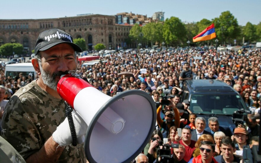 Armėnijos opozicijos lyderis vėl bus siūlomas į šalies premjero postą