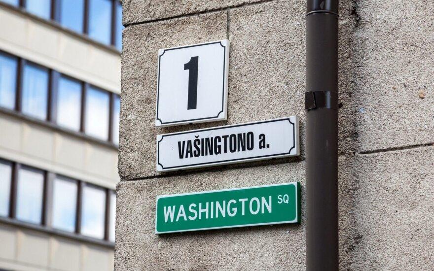 Minėjimas Vašingtono aikštėje