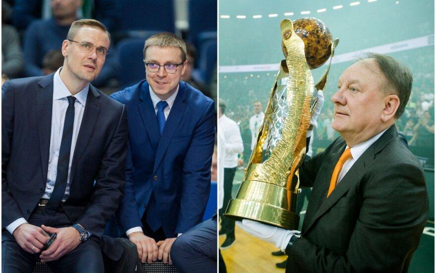 (iš kairės) Robertas Javtokas, Paulius Motiejūnas, Remigijus Milašius