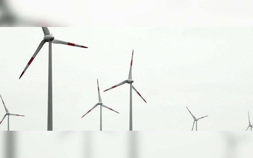 Vėjo jėgainės šiemet pagamino trečdalį elektros Lietuvoje