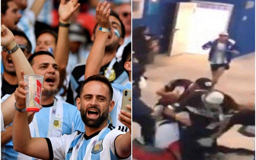 Argentinos rinktinės gerbėjai