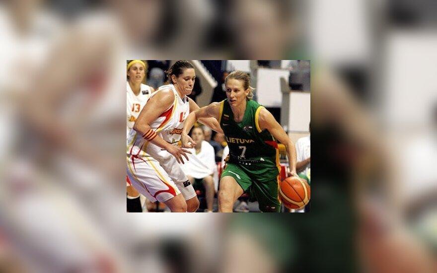 J.Štreimikytė-Virbickienė: dabar visa Europa moka žaisti krepšinį