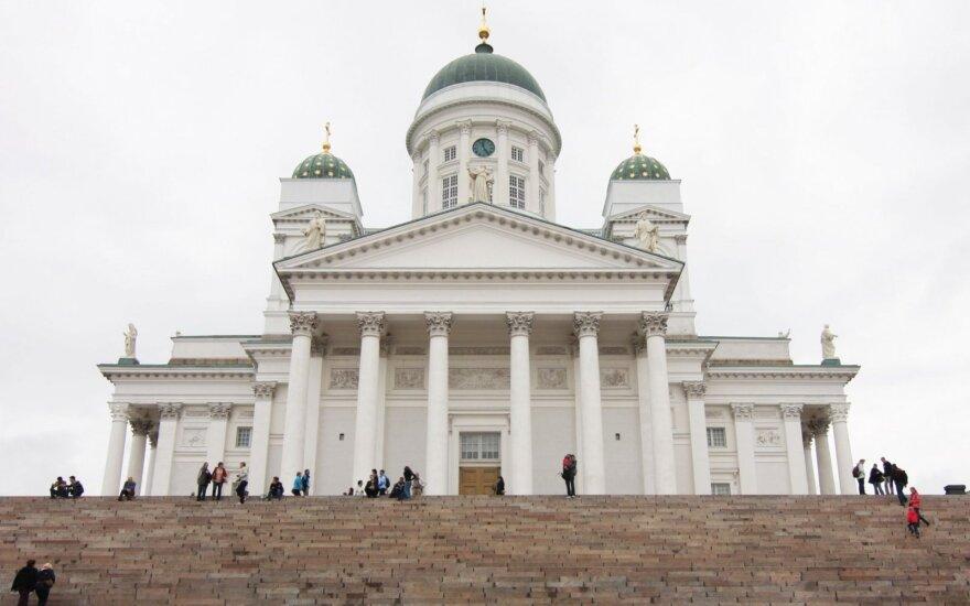 Helsinkio centre aidėjo šūviai
