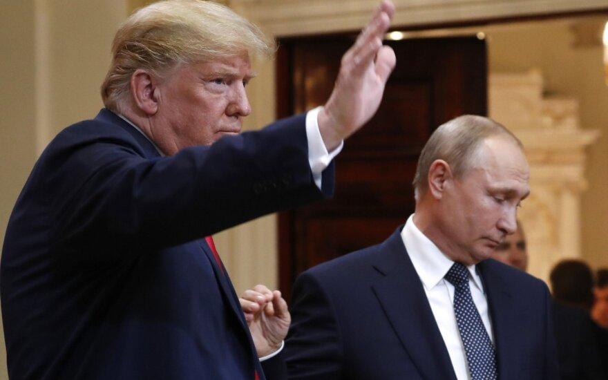 Donaldo Trumpo ir Vladimiro Putino susitikimas
