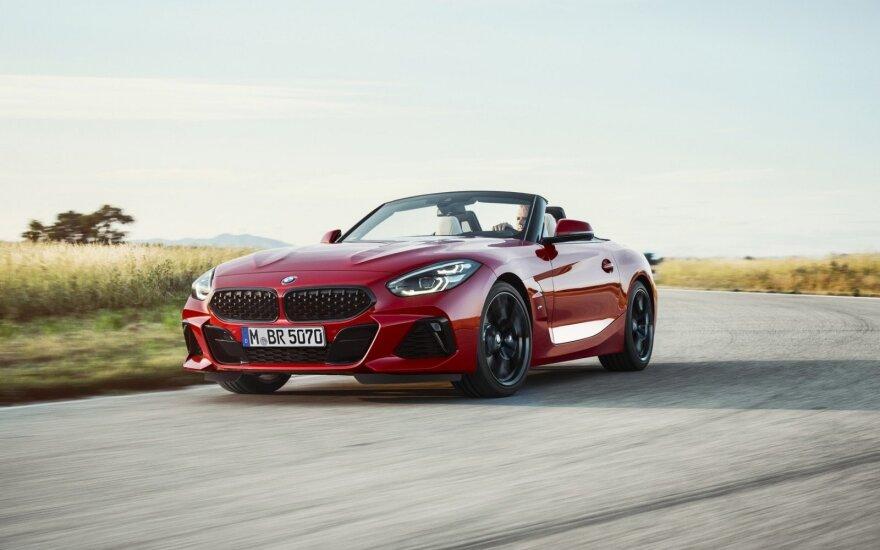 BMW Z4 buvo pristatytas JAV