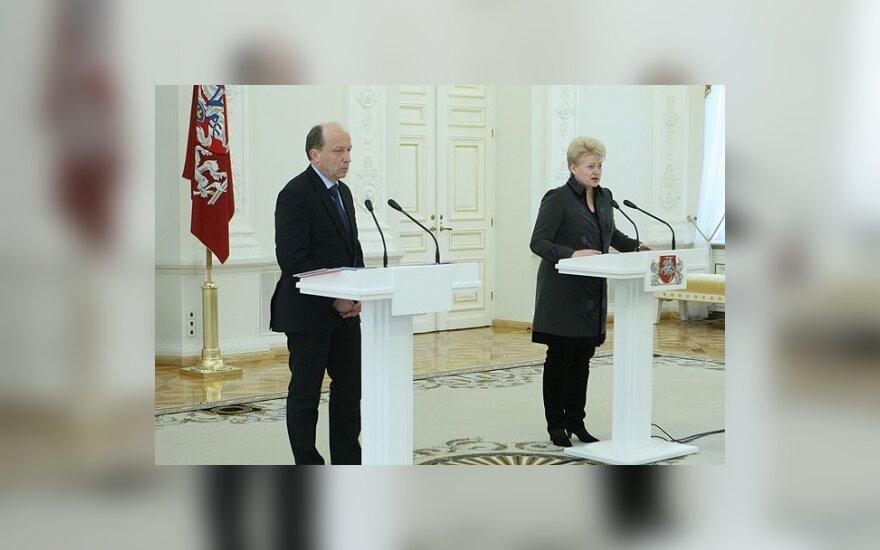 D.Grybauskaitė: man reikia dirbančios, o ne kalbančios Vyriausybės