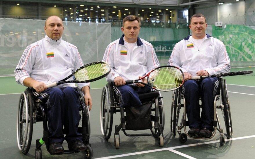 Lietuvos neįgaliųjų teniso rinktinė