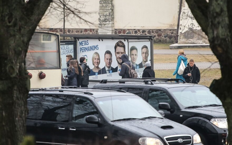 Lithuania's political parties hit with fines for illegal campaigning