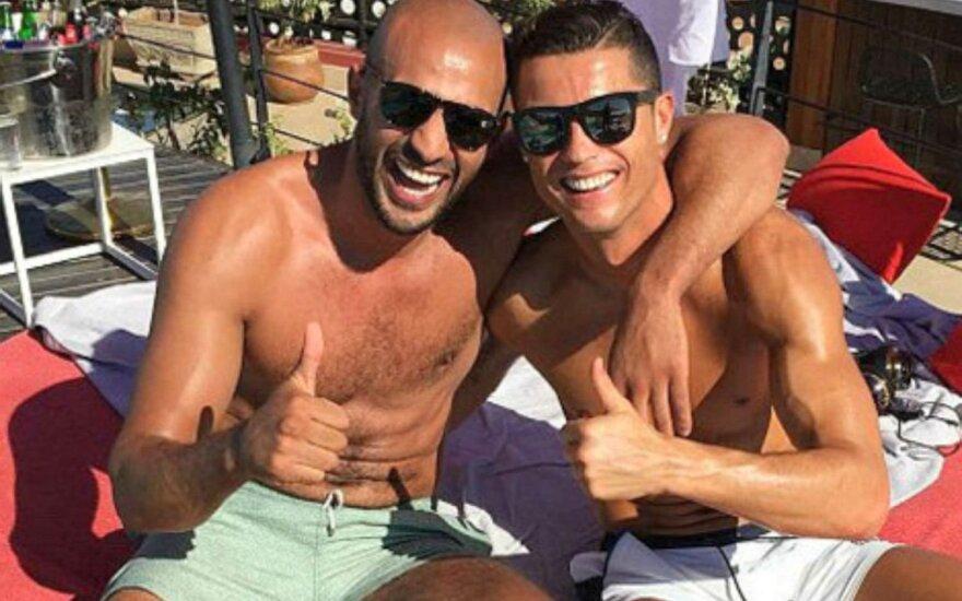 Cristiano Ronaldo ir Badras Hari