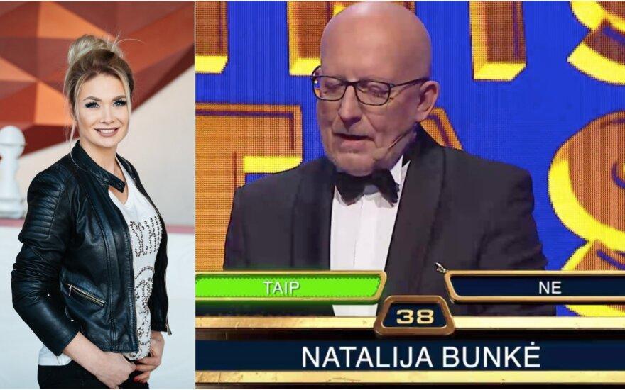 N. Bunkė ir A. Valinskas / Foto: DELFI, LRT