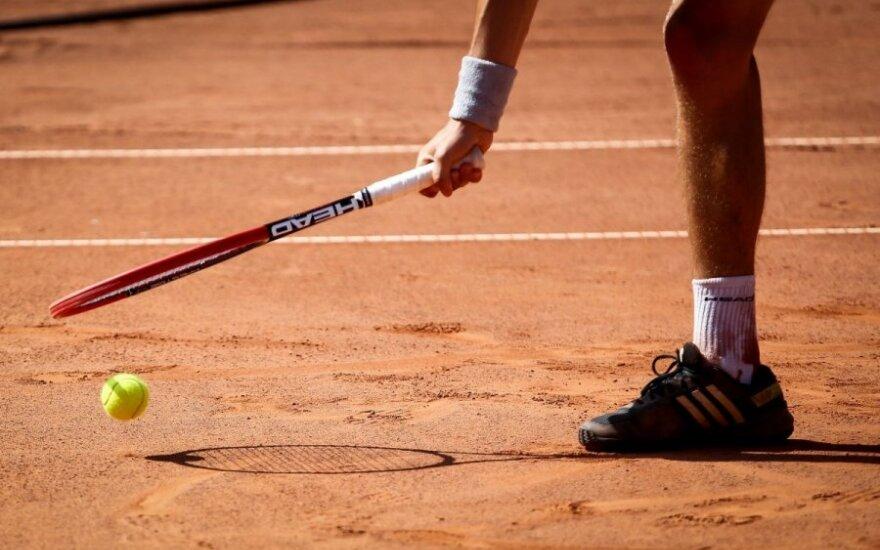 T. Babelis baigė pasirodymą ITF serijos vyrų teniso turnyre Egipte