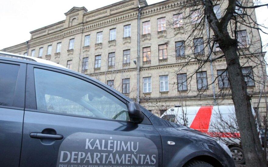 Kalėjimų departamente pertvarkyta administracijos struktūra