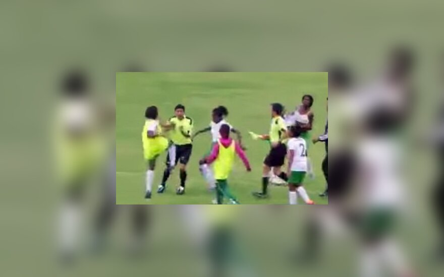 Muštynės Ekvadoro moterų futbolo čempionate