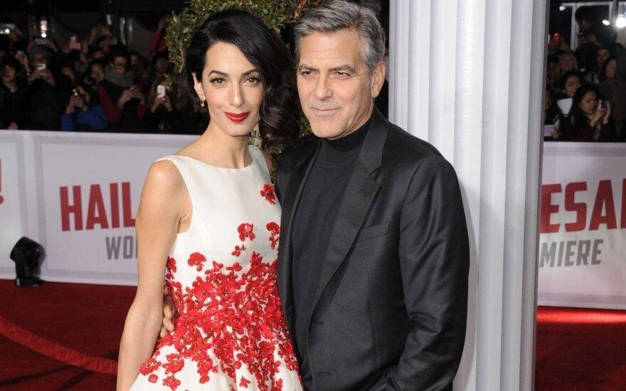 Nesenstantis G. Clooney: apie niekad neplanuotą šeimą ir sunkų kelią iki šlovės