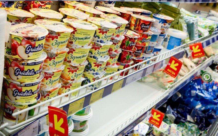 Lietuviški pieno produktai jau pakeliui į Rusiją
