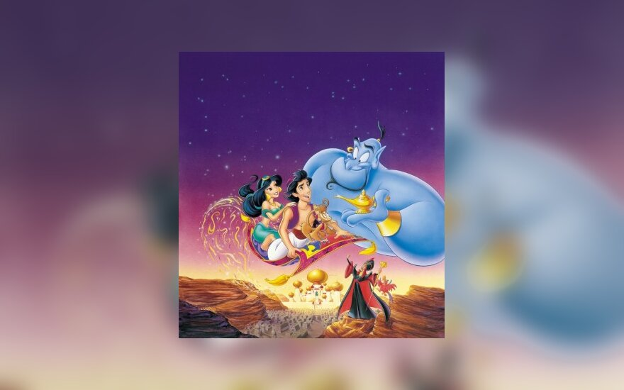 """Animacinis filmas """"Aladinas"""""""