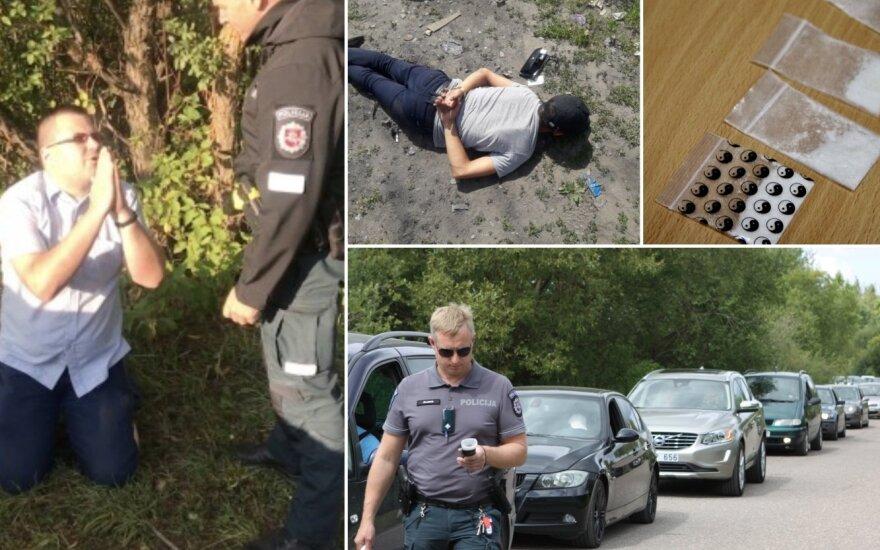 Kišenėse – tabletės, prieš pareigūnus puola net ant kelių: kas vyksta Lietuvos festivaliuose
