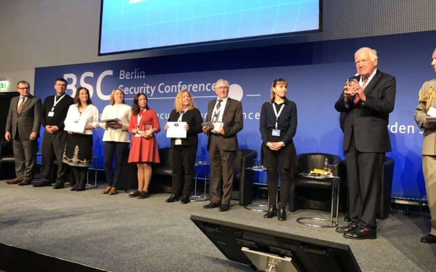 Forumo teatrui Europos įvertinimas už pilietiškumą, saugumą ir gynybą