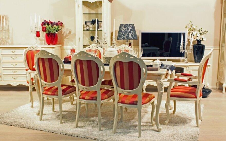 Kaip išsirinkti valgomojo stalą?