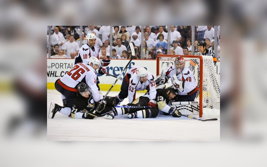 "Vašingtono ""Capitals"" - Pitsburgo ""Penguins"" klubų dvikova"