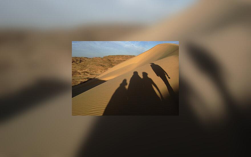 Dykuma, šešėliai