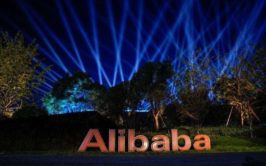 """""""Alibaba"""" Vienišių dieną tikisi dar vieno rekordo"""