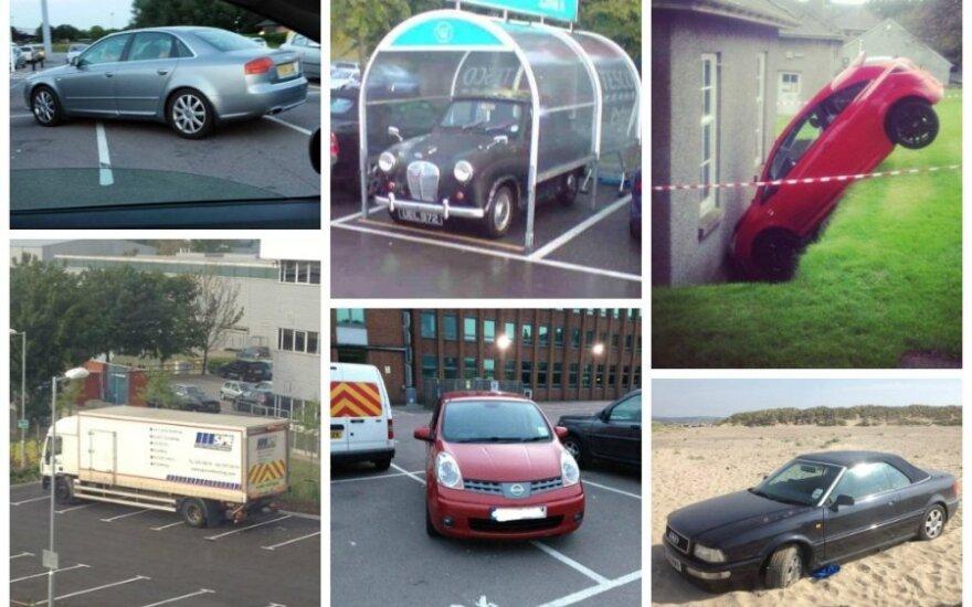 Automobilių statymo kuriozai