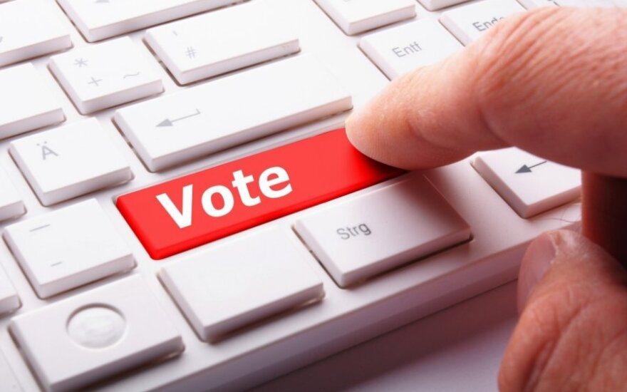 56 percent in Lithuania in favour of e-voting