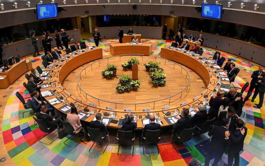ES lyderių susitikimas Briuselyje