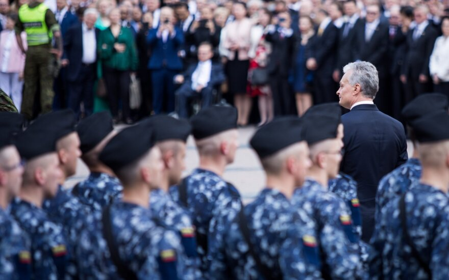 Per Nausėdos inauguraciją – sustiprintos pajėgos: saugo gausus būrys pareigūnų