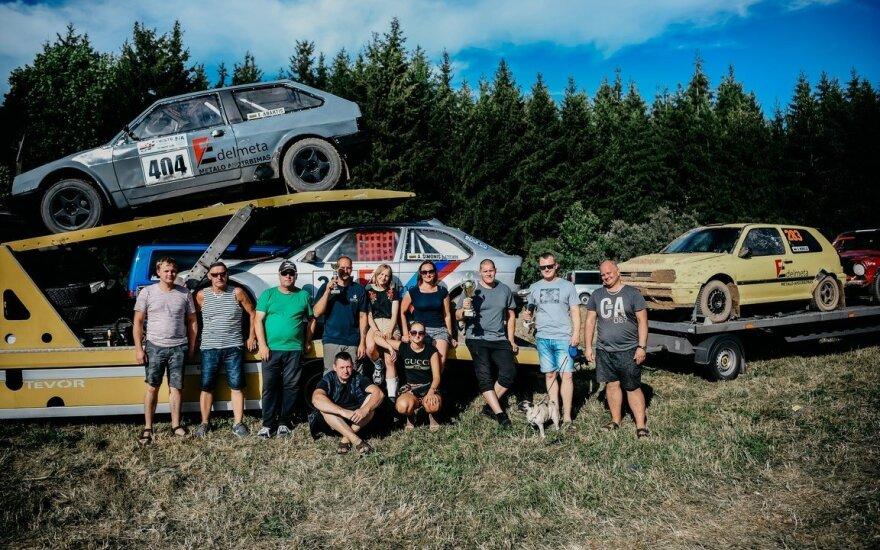 Gargždų autokroso lenktynininkai šalies garbę gins lenktynėse Moldavijoje