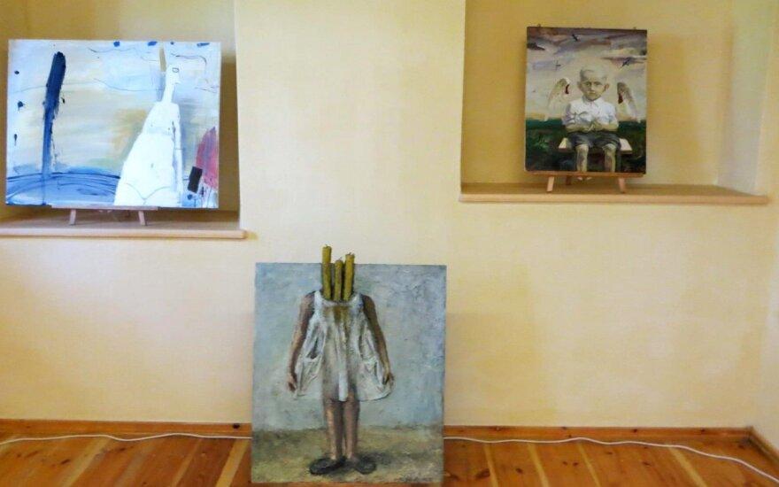 Videniškių vienuolyno muziejus užsipildė angelų interpretacijomis