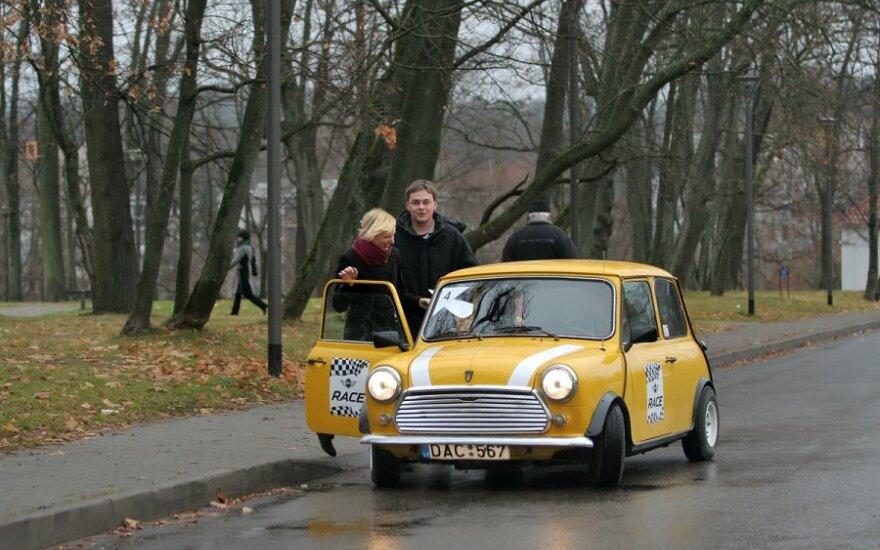 """""""Mini"""" automobilių orientacinės varžybos. Ž.Timuko nuotr."""