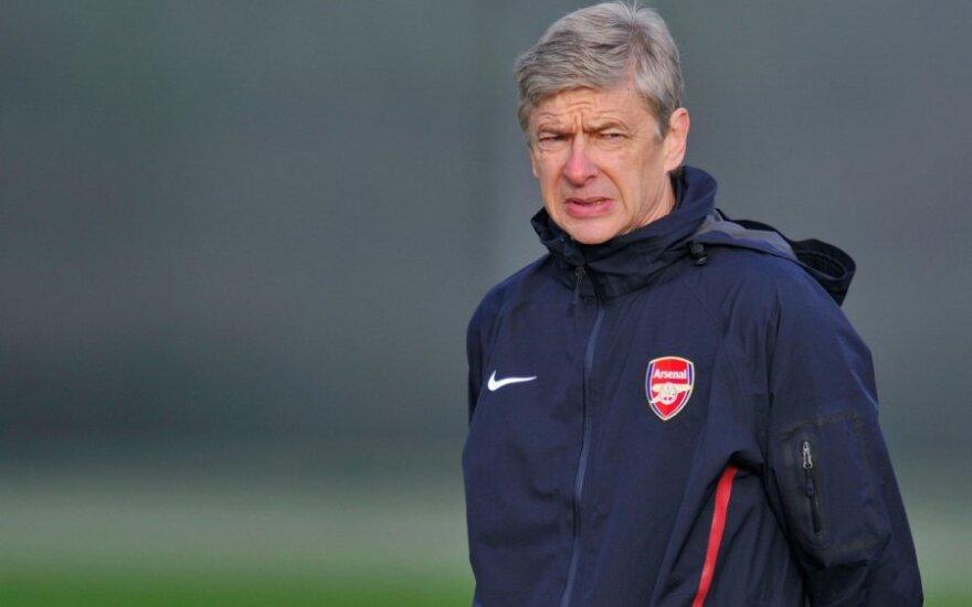 """""""Arsenal"""" strategas Arsene'as Wengeras"""