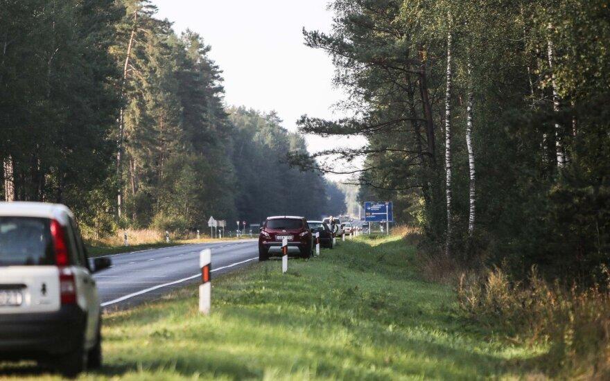 Draudikai pastebi naują grėsmę Lietuvos keliuose – užkliuvo grybautojai
