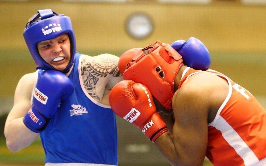Dano Pozniako bokso turnyras, finalinių kovų akimirkos