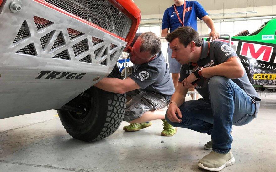 Techninių patikrų diena 2019-ųjų Dakaro ralyje