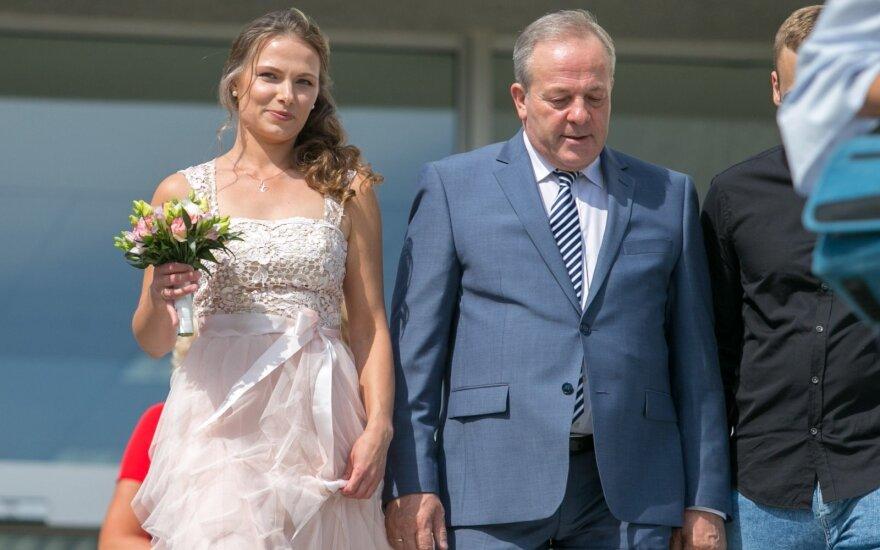 Romo Adomavičiaus ir Lauros Čyžiūtės vestuvės, FOTO: Josvydas Elinskas