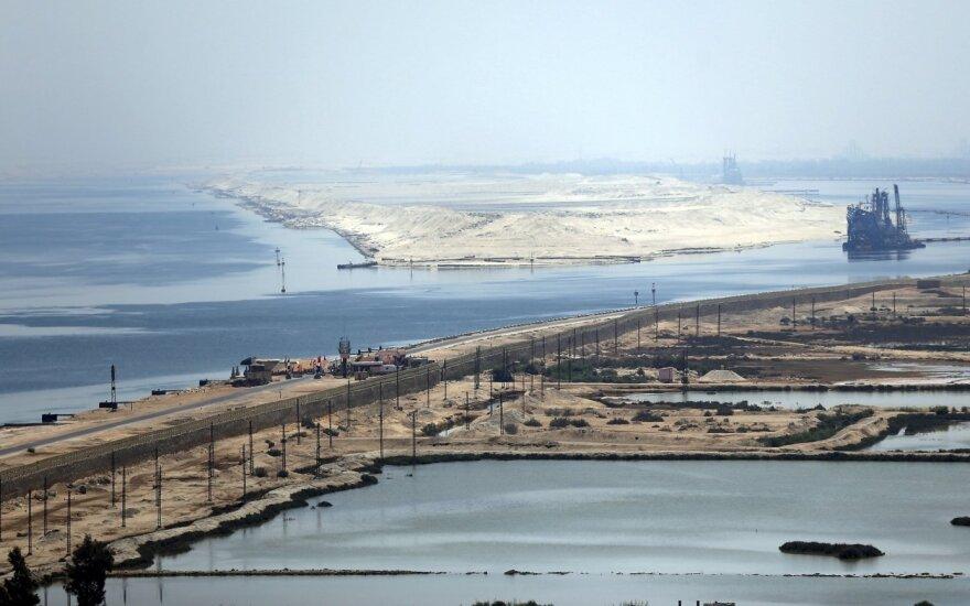 Egiptas kukliai minės Sueco kanalo atidarymo 150-ąsias metines