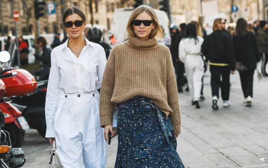 Megztinis, gatvės mada