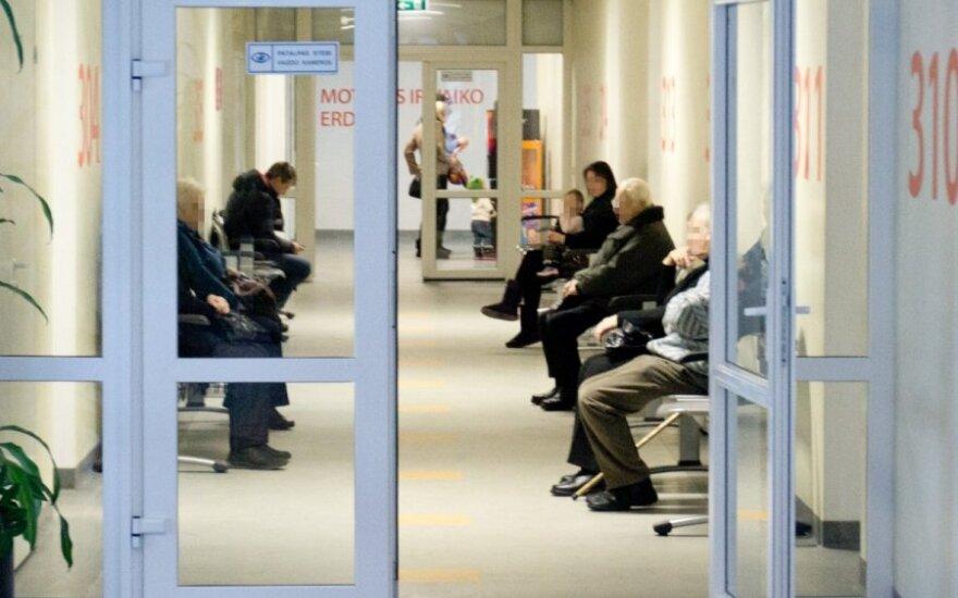 Pas gydytoją užsiregistruoti norėjusį vyrą įsiutino pamatytas vaizdas