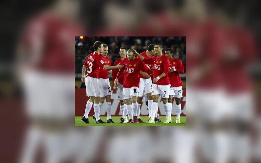 """""""Manchester United"""" klubo žaidėjai"""