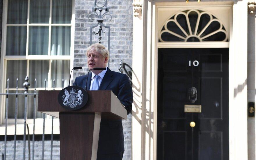 Dublinas: Johnsonas kreipia JK susidūrimo kursu su ES