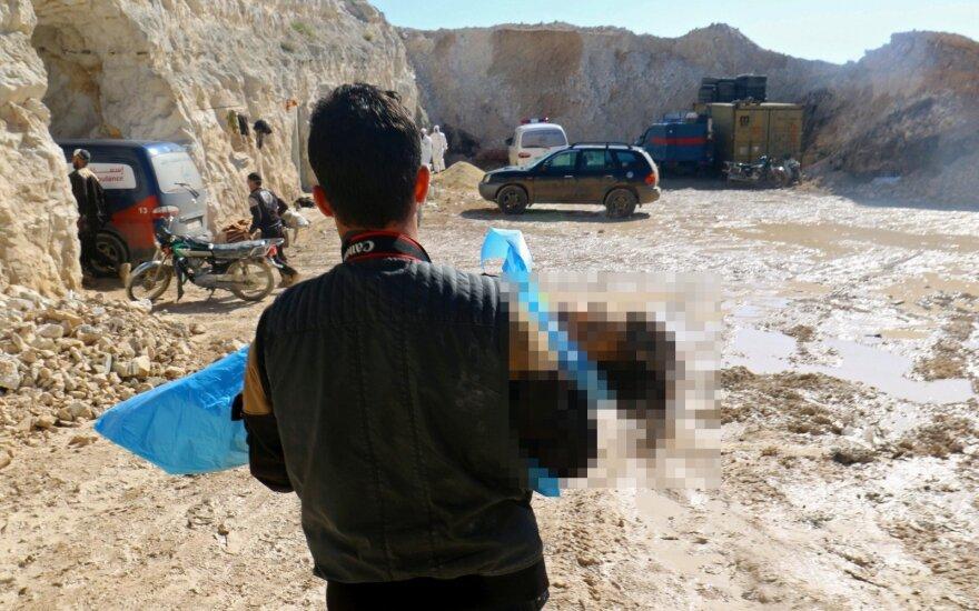 Turkija patvirtino, kad B. al Assado režimas panaudojo cheminį ginklą