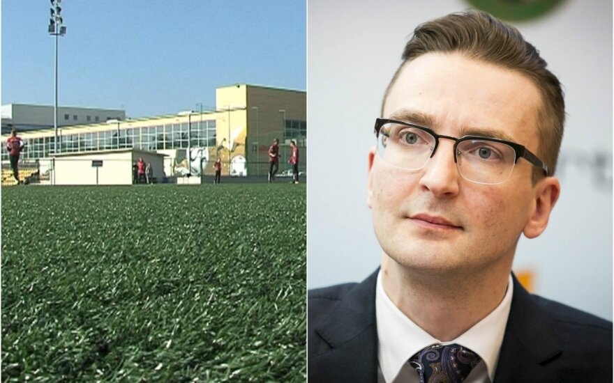 Edvinas Eimontas turi minčių parduoti NFA bazę Kaune