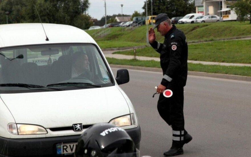 Policija, pareigūnas, reidas