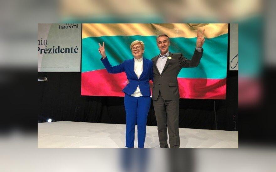 Petras Auštrevičius Prezidento rinkimuose remia Ingridą Šimonytę