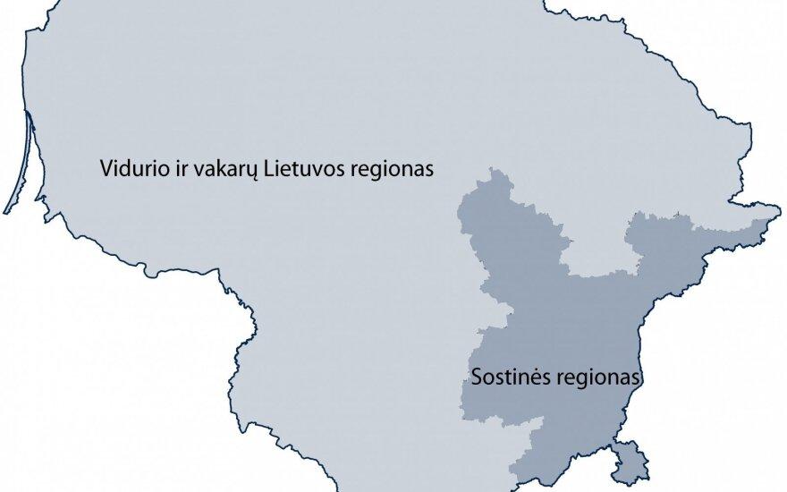 Nauji statistiniai regionai