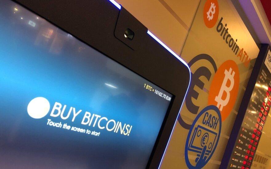 Vilniuje veikusius bitkoinų automatus teko išjungti